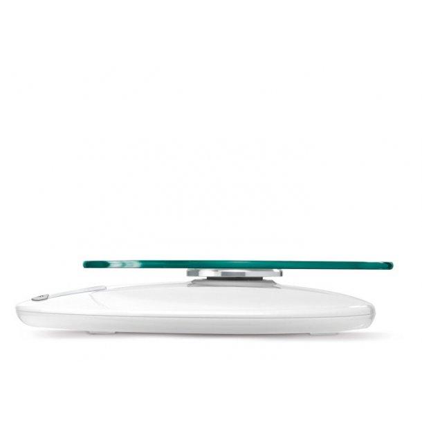 Soehnle Roma Køkkenvægt, elektronisk, hvid - op til 5kg