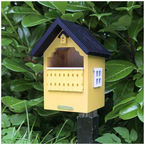 WildLife Garden Redekasse Balkon, for rødhals og gærdesmute - gul