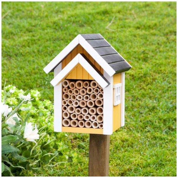 WildLife Garden Bibo - bihotel for havens solitærbier, gul