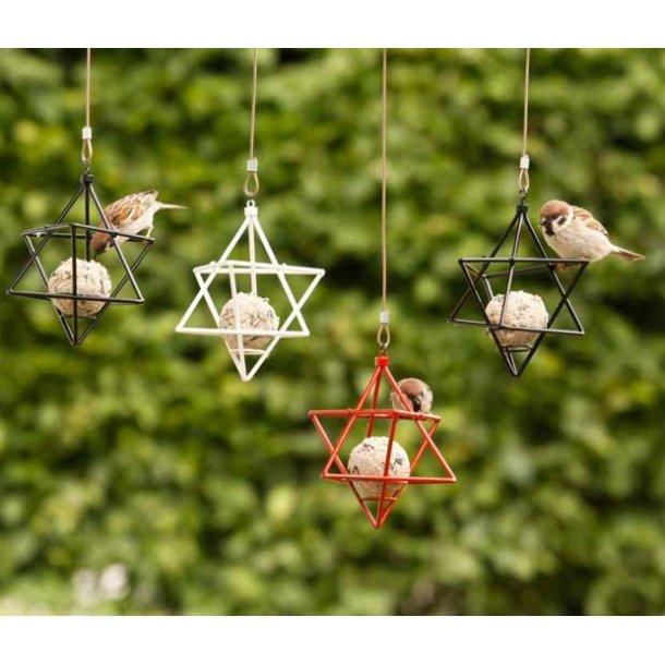 WildLife Garden Mejsekugleholder i stjerne - 3 farver