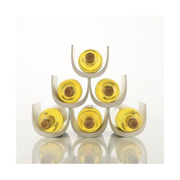 Alessi Vinreol Noe GIA13 til 6 flasker - hvid