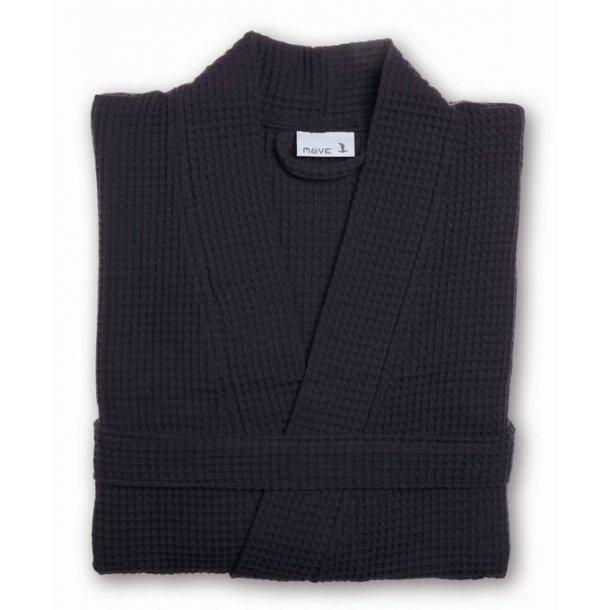 Möve Piquée Kimono, 100% bomuld, vaffelpiquée, Graphite, S-XL