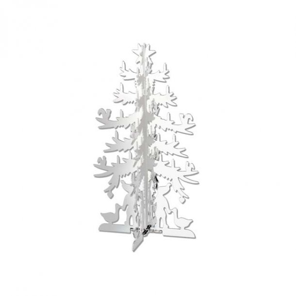 H.C. Andersen Papirklip Grantræ, lille forsølvet