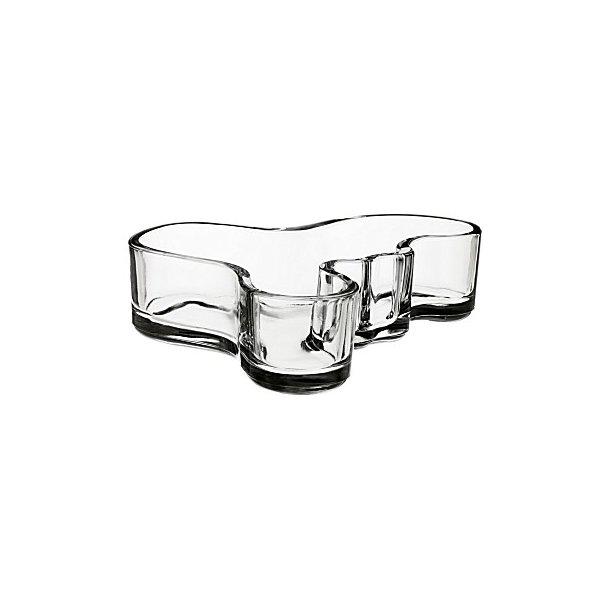 Aalto Fad i klart glas - 13,6 cm - klar