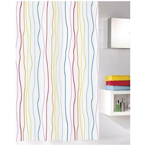 Kleine Wolke Jolie Badeforhæng 180 x 200 cm - Multicolor
