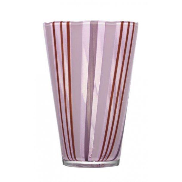 Kosta Boda Cabana vase 235 mm i Orrefors krystal - lilla