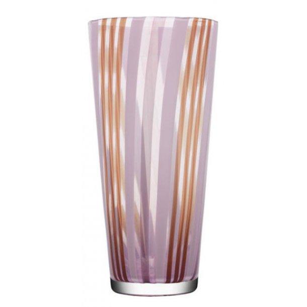 Kosta Boda Cabana vase 340 mm i Orrefors krystal - lilla