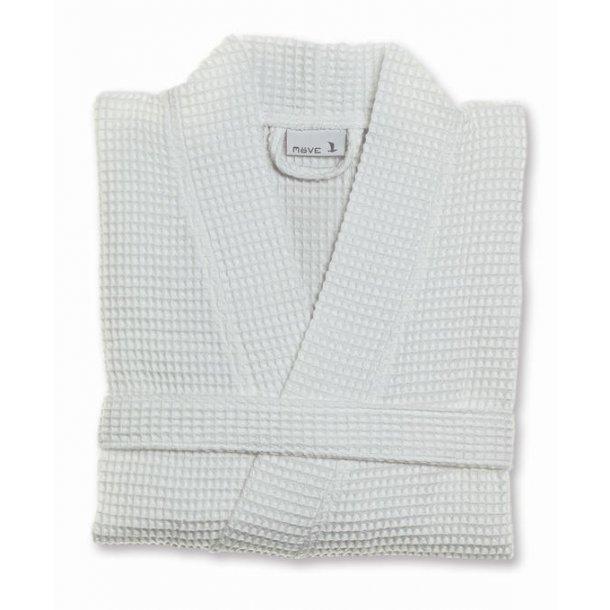 Möve Piquée Kimono, 100% bomuld, vaffelpiquée, Snow, S-XL