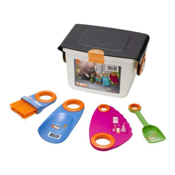 Fiskars My First børneredskaber - 4 redskaber med boks