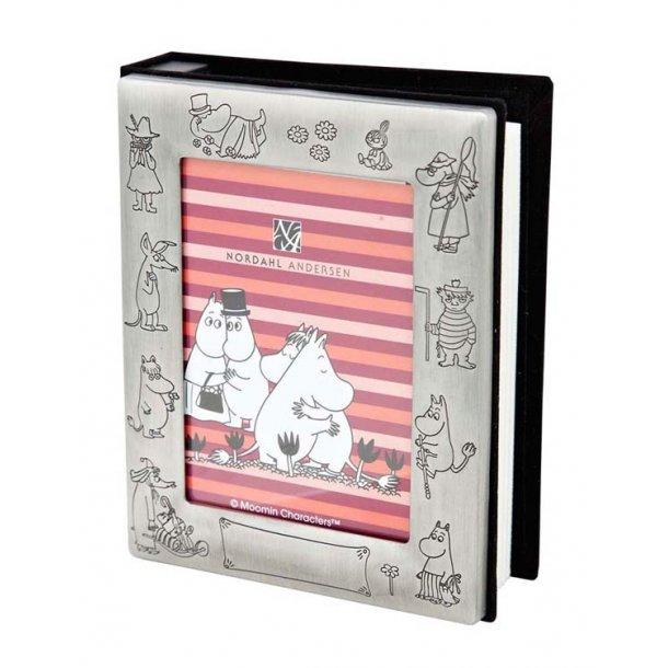 Mumi fotoalbum, firkantet, Mumifamilie, rund, fortinnet - 2 typer