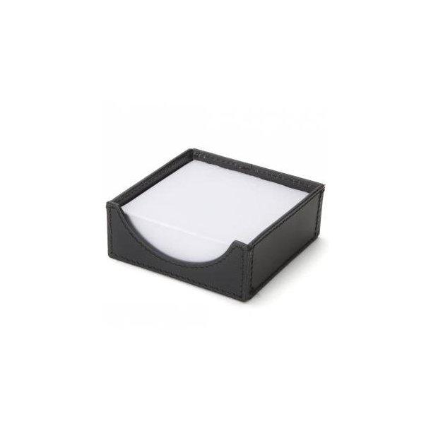 Ørskov NotePad-holder - sort læder B