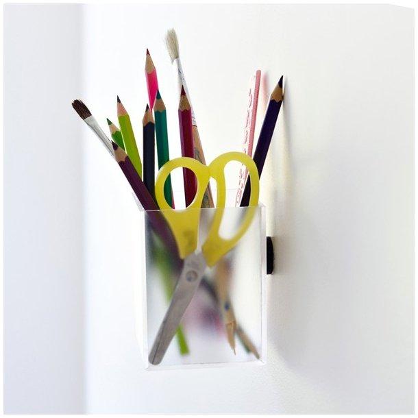 Reenberg's Magnetisk Acrylboks - opal