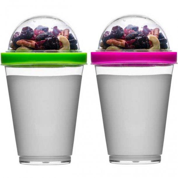 Sagaform Fresh Youghurt bæger med top