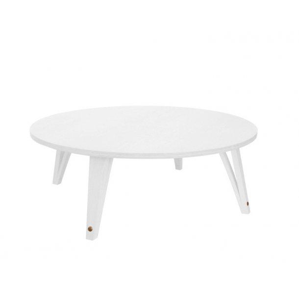 ShapingYourDay Viggo Lounge Table Ø100 cm - hvid