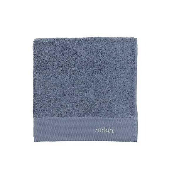 Södahl Comfort håndklæde i ren bomuld - china blue - 4 størrelser