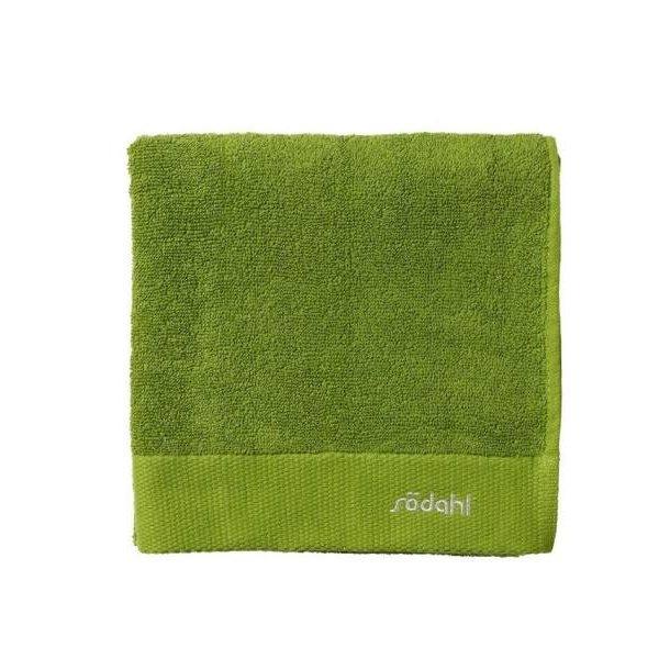 Södahl Comfort håndklæde i ren bomuld - grøn 70 x 140 cm