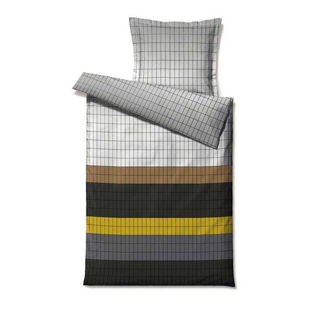 Södahl Behind Blocks sengesæt, bomuldssatin - 200 x 220 cm