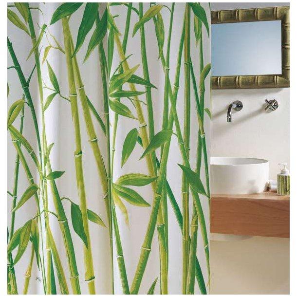 Spirella Bambus Badeforhæng 180 x 200 cm