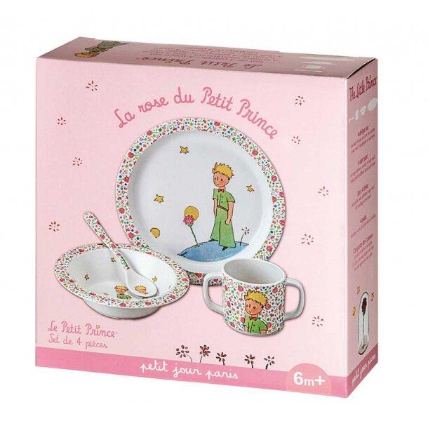 Petit Jour Barnesæt, Lille Prins, 4 dele, Pink