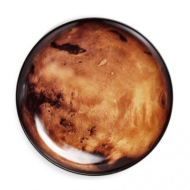 Seletti Cosmic Diner sidetallerken Mars 23,5 cm