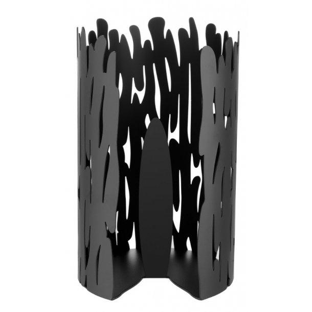 Alessi Barkroll køkkenrulleholder Sortlakeret stål