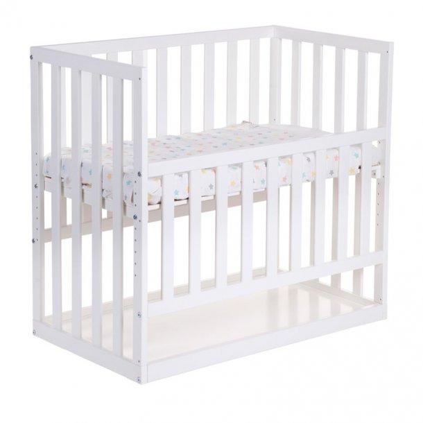 Childhome Bedside Crib babyseng - hvid