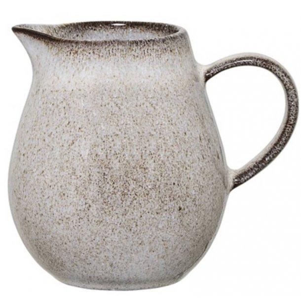 Bloomingville Sandrine Mælkekande, stentøj - grå