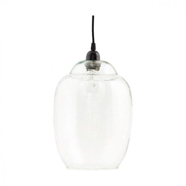 House Doctor Goal Lampeskærm i mundblæst glas Ø22cm - klar