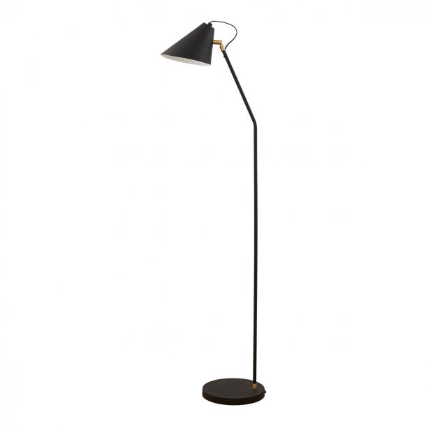 House Doctor Club gulvlampe 130cm - sort