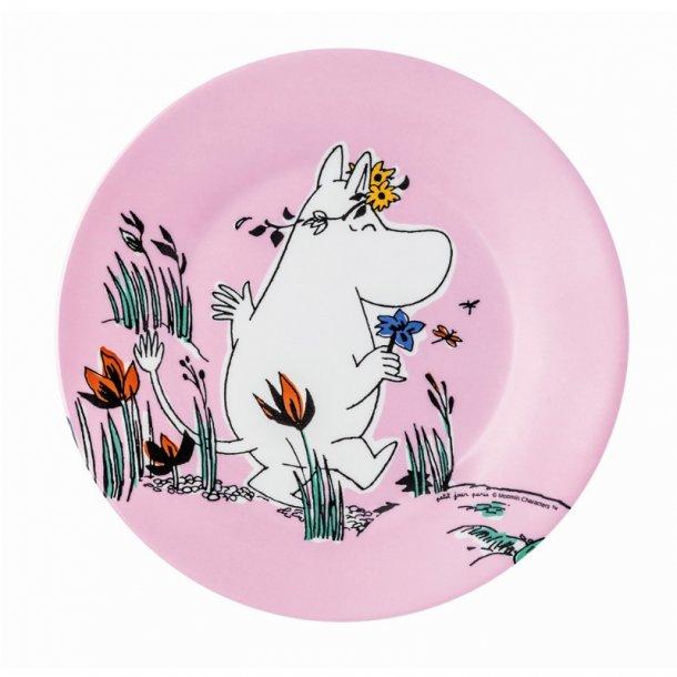 Petit Jour Mumi tallerken Ø20cm, Lyserød