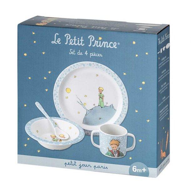 Petit Jour Barnesæt, Lille Prins, 4 dele, Lyseblå