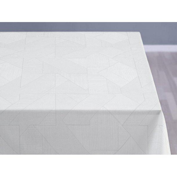 Södahl Complex damask dug, staincoat - hvid - 5 størrelser