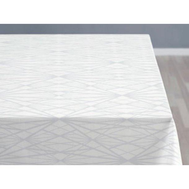 Södahl Diamond Grid damask dug, staincoat - offwhite - 5 størrelser