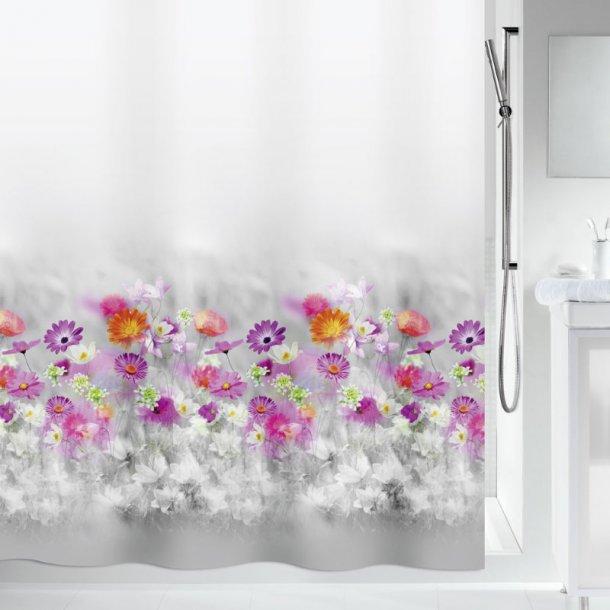 Spirella Abella Badeforhæng 180 x 200 cm - multicolor