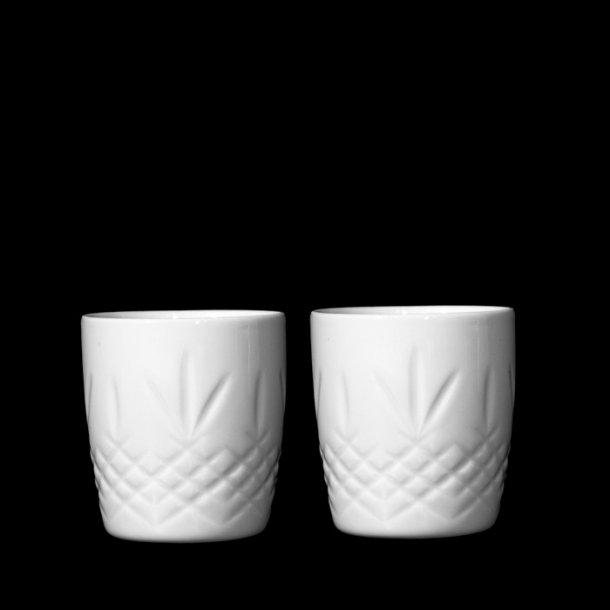 Frederik Bagger Crispy Mug Ø8cm 285ml - 2 pcs white