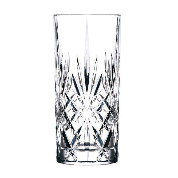 Lyngby Glas Melodia Highball, krystal 36cl - 6 stk