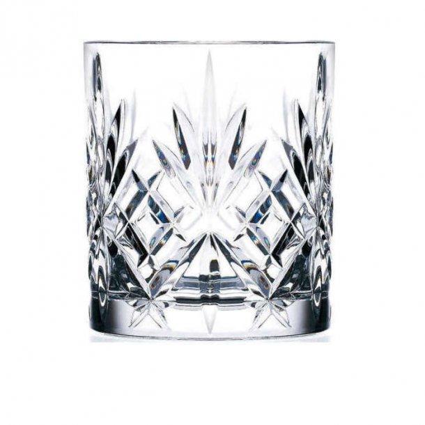Lyngby Glas Melodia Drinks Lowball glas, krystal 31 cl - 6 stk