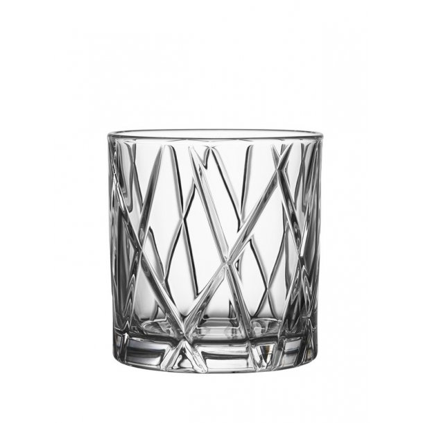 Orrefors City Old Fashioned Whiskyglas Double - 4 stk.
