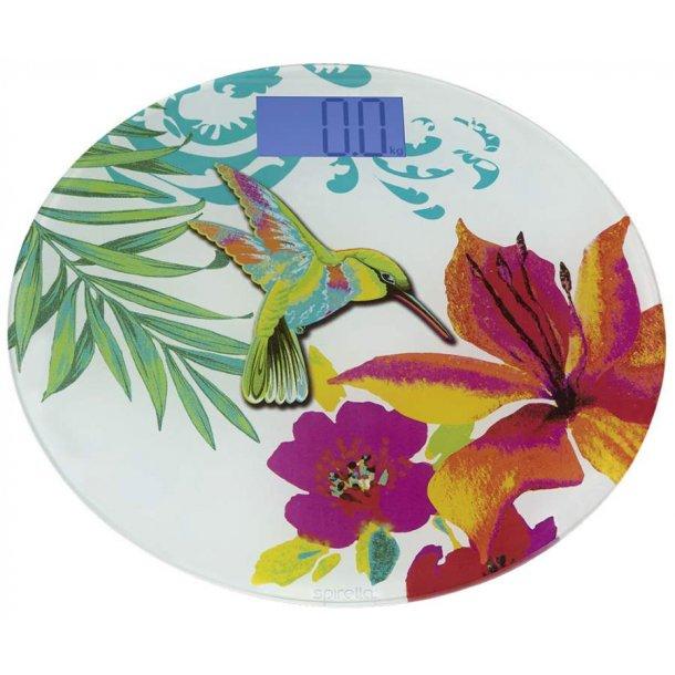 Spirella Ibiza Love Badevægt rund - 33 cm - multicolor