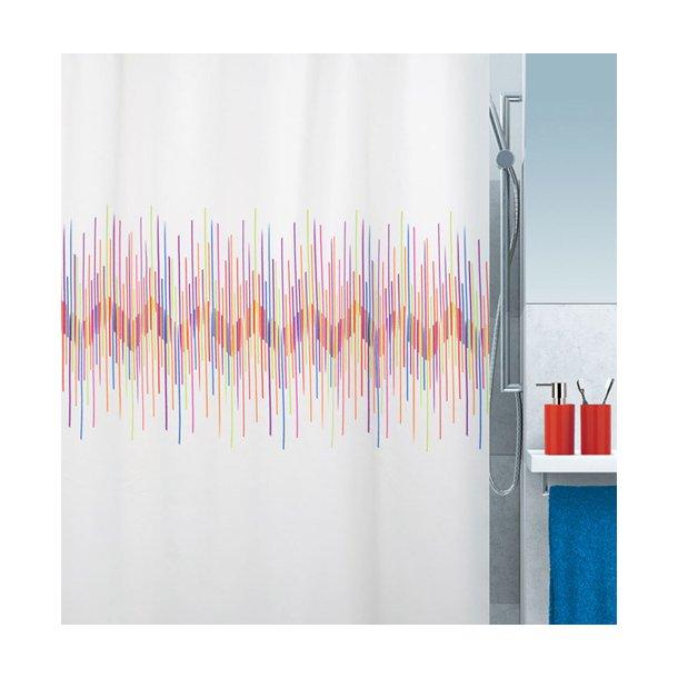 Spirella Ray Multicolor Badeforhæng 180 x 200 cm