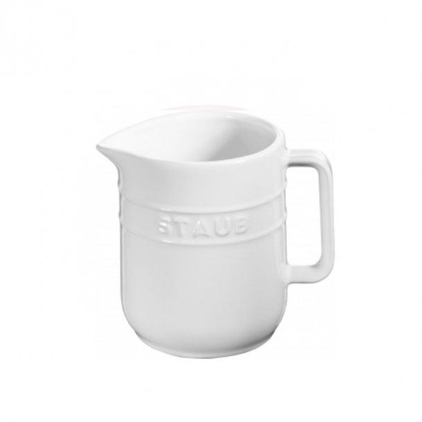 Staub Kande i keramik - 0,25liter - hvid