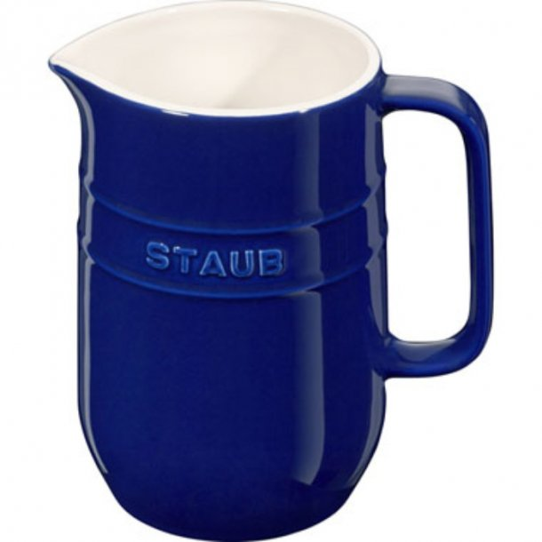 Staub Kande i keramik - 1liter - blå