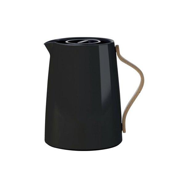 Stelton Emma Te-termokande 1,0 liter med smartfilter - sort