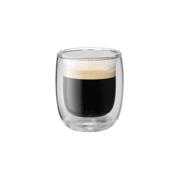 Zwilling Sorrento Espressoglas 80ml klar - 2 stk
