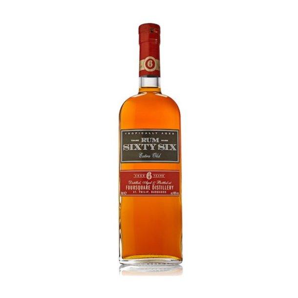 Rum Sixty Six Extra Old 6 år 70cl 40%