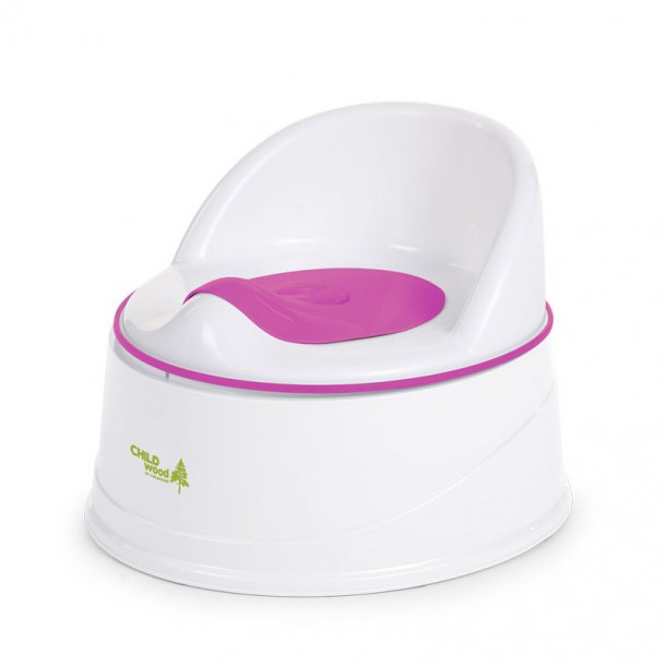 Childhome potte 3-i-1, pink og hvid