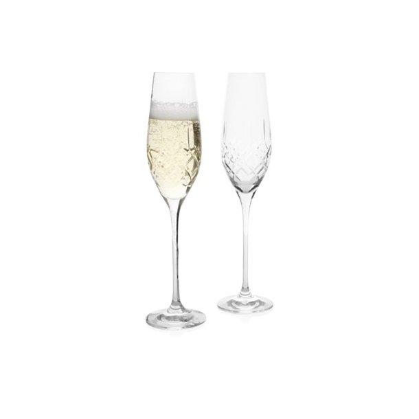 Erik Bagger XO champagneglas i krystal 21cl - 2 stk.