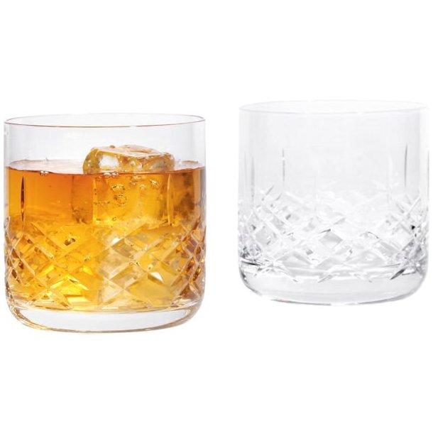 Erik Bagger XO lowball glas i krystal 37cl - 2 stk.