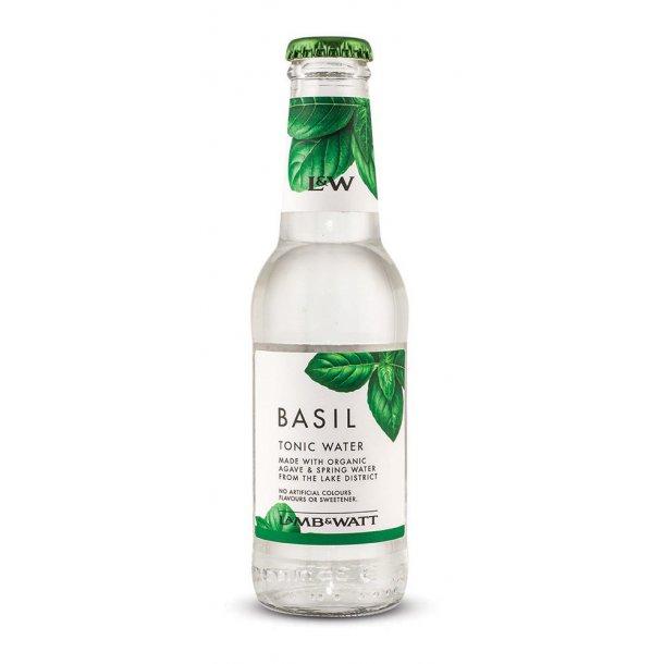 Lamb & Watt Tonic 12 stk - (Basil Tonic 200 ml)