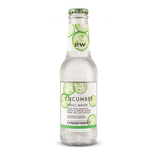 Lamb & Watt Tonic 12 stk - (Cucumber Tonic 200 ml)